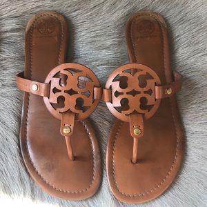 Tory Burch Miller Vintage Brown Sandals 11
